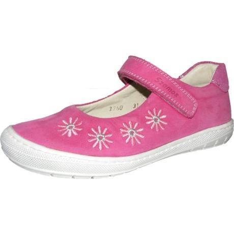 Szamos Kölyök Pink Tépőzáras Formatalpas Nyitott Gyerekcipő 3260-404113-31