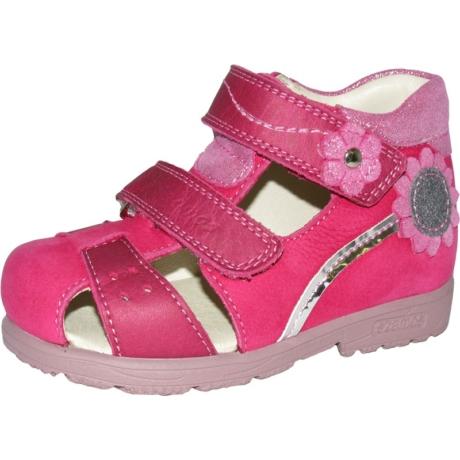 Szamos Kölyök Pink Pántos Supinált Gyerek Szandál 4284-407492-29